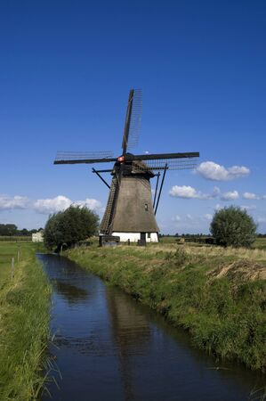 Oude Doornse windmill 版權商用圖片