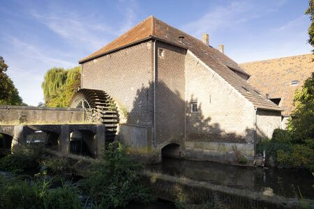 The Grathemer watermill 版權商用圖片