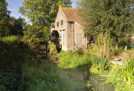 Watermill the Armenmolen 版權商用圖片