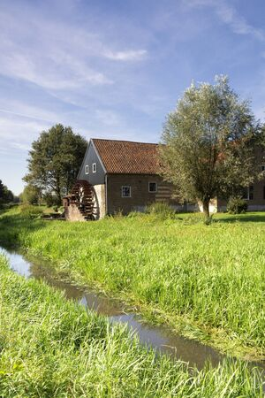 The Uffelse watermill near the Dutch village Hunsel in the province Limburg