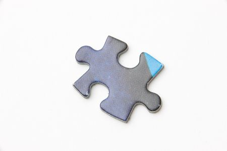 knocked out: puzzle piece
