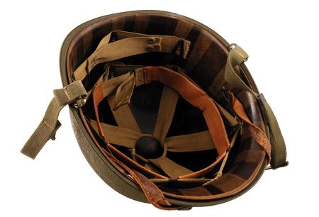 World War 2 era Helmet inside
