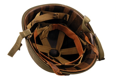 World War 2 era Helmet inside