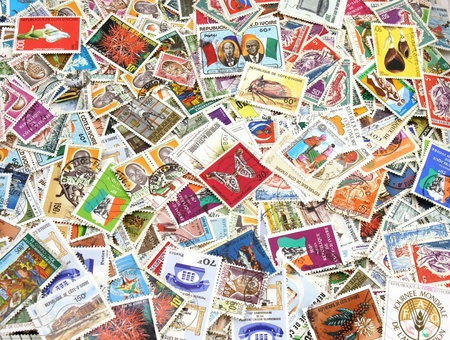 cote d ivoire: A collection of stamps from Cote-Divoire Editorial