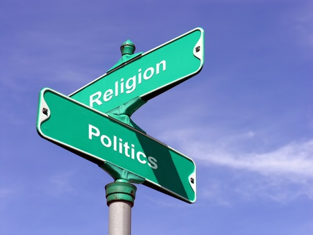 intersects: Religion intersects Politics