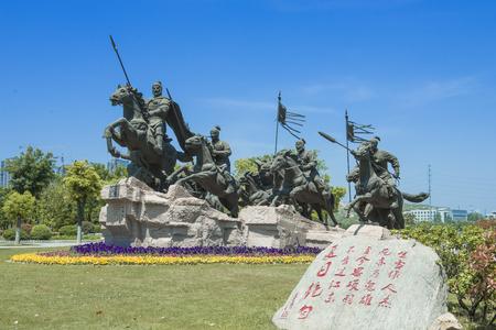 Xiang Yu sculpture