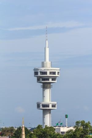 watchtower: Watchtower in Suphanburi garden,Thailand  Stock Photo