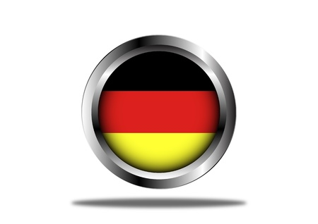 A Stock  illustration of Germany Flag Button Stock Vector - 12851227