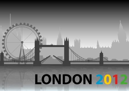 gimmick: A Stock of London 2012 City Landmarks