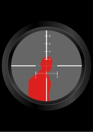 chosen: a man being Targeted