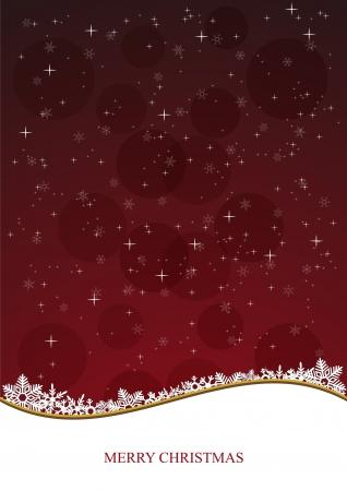 slopes: Stock Vector illustration of Christmas Background B