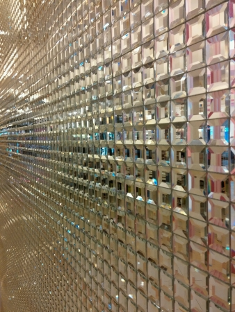 Glass mozaic texture Stock Photo