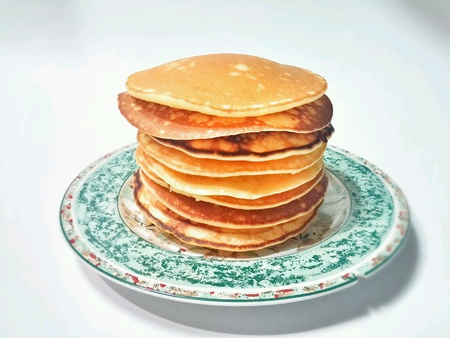 flapjacks: Homemade pancakes