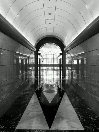 Retro corridor