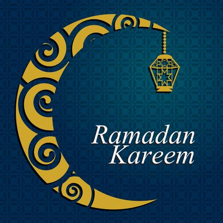 simple graphic illustration Ramadan Kareem 7