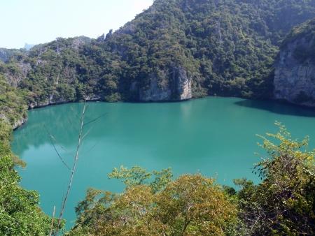 Lagoon Inside the Mountain, Mu Koh Ang Thong Marine National Park, Koh Samui, Thailand