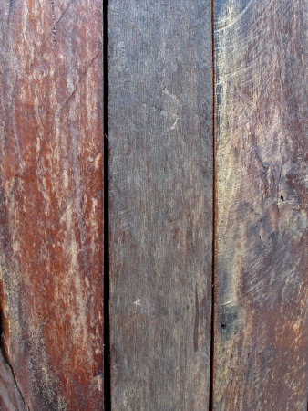 three styles of wood texture