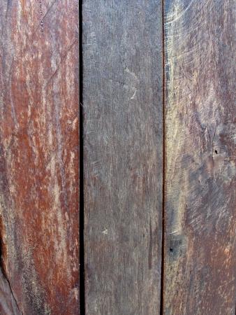 três estilos de textura de madeira