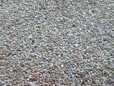 abstract background of small pebbles Stock Photo - 18221817