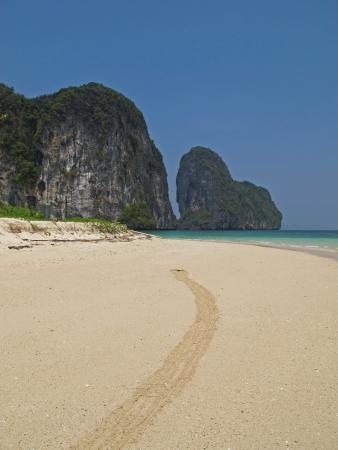 praia da ilha tropical, ko lao liang, tail
