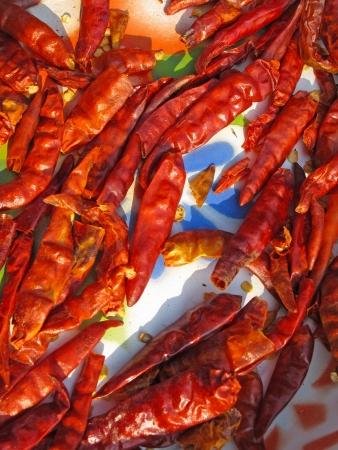 folkways: dried chilli - folkways to preserve food of Thai people