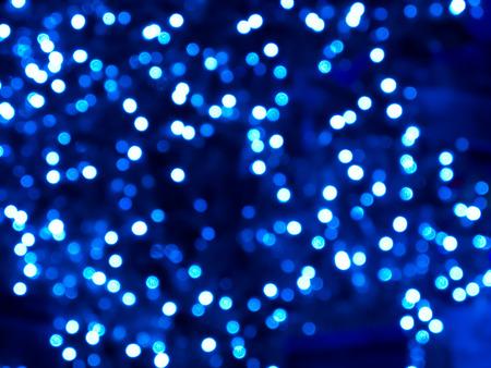 Blue defocused lights. Imagens