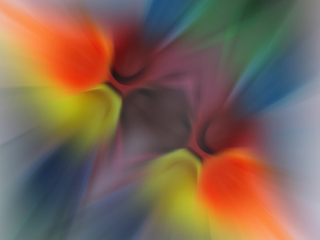 overlapped: Abstract background of multi color overlapped and spreading. Stock Photo