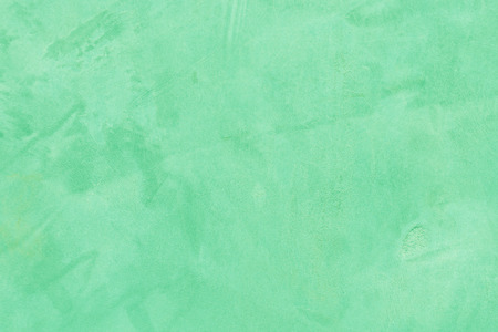 Old cement wall texture in green color. Stock Photo