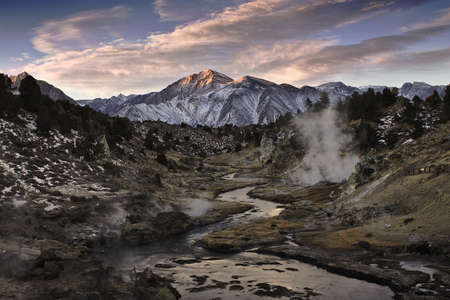 hot springs and the sierras photo
