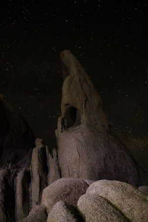 Milky Way over Joshua Tree, CA photo