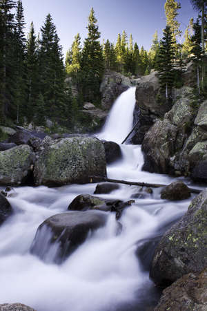 Alberta Falls - Rocky Mountain National Park photo