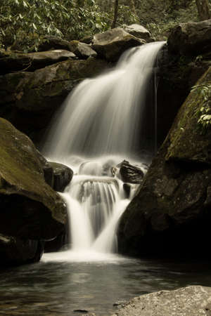 Grotto Falls - Great Smoky Mountains National Park photo