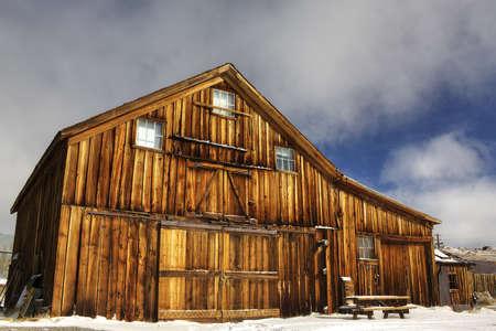 Old Barn in Bodie Historical Park, CA