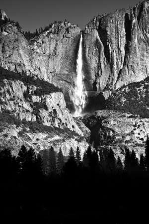 Upper Yosemite Fall - Yosemite National Park, California Stock Photo - 13842808