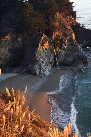 Sunset Mc Way - Big Sur, California