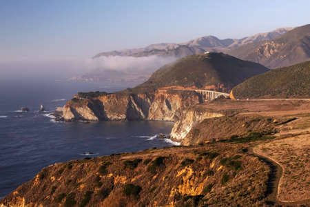 Rugged California Coastline - Big Sur, California photo