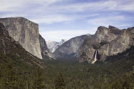 Tunnel View and Rainbow - Yosemite National Park, California Stock Photo - 13850108