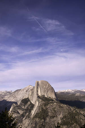 Half Dome from Glacier Point - Yosemite National Park, California Stock Photo - 13850096