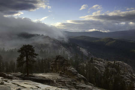 Clearing Storm in the Sierra Nevada Mountains