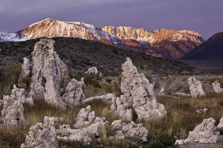 Mono Lake tufas and the Sierras Stock Photo - 14773358