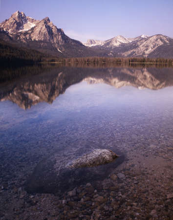 Stanley Lake - Idaho Stock Photo - 14773326