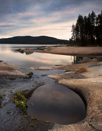 Sierra landscape at Shaver Lake Stock Photo - 14773365