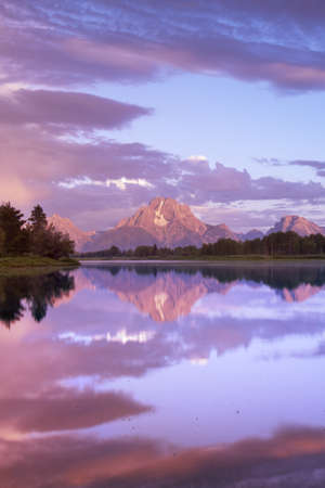 Mount Moran from Oxbow Bend - Grand Teton National Park photo