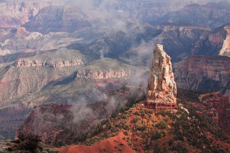Stone Spire in the Grand Canyon photo