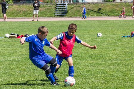 Shitik soccer childrens  international football tournament , in 19th of May 2018, in Ozolnieki, Latvia