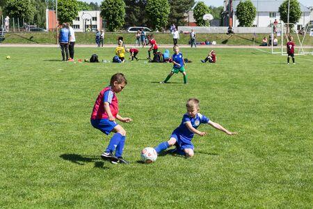 Międzynarodowy turniej piłki nożnej dzieci Shitik, 19 maja 2018 r., Ozolnieki, Łotwa