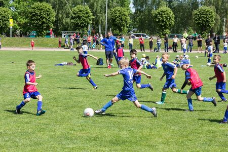 Shitik soccer children's international football tournament , in 19th of May 2018, in Ozolnieki, Latvia Publikacyjne