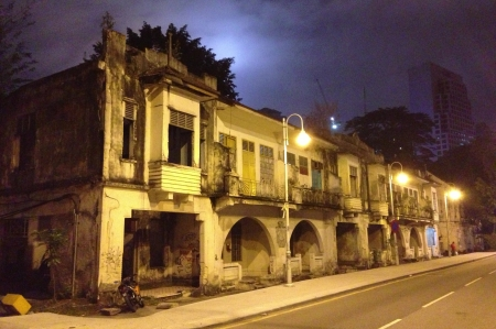 kl: The older part of KL. Shophouses with character.