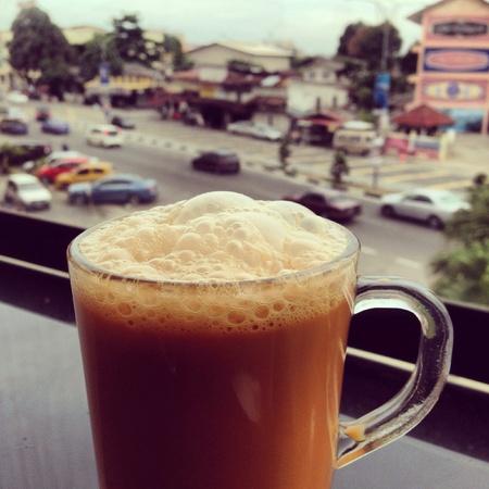 teh: Teh Tarik, Malaysian milk tea