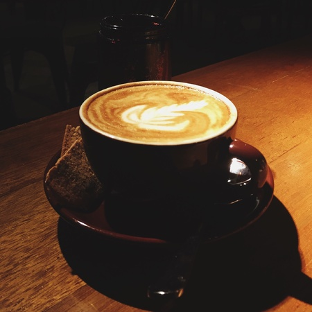 soul: Nothing beats alone time with a great cup.of flatwhite. Coffee soothes the soul.